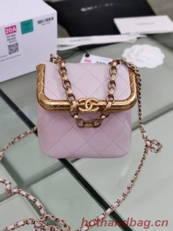 Chanel Original mini Magnet buckle bag AS1886 pink
