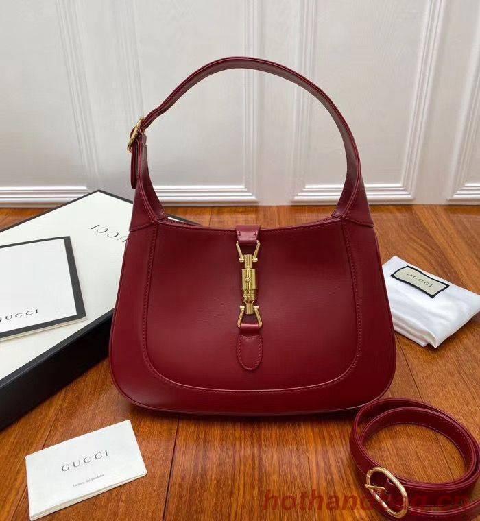 Gucci Jackie 1961 small hobo bag 636709 Red