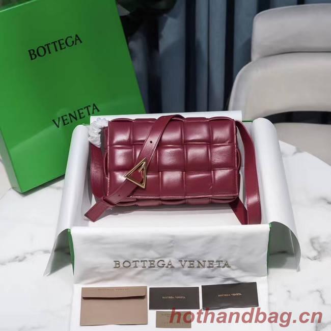 Bottega Veneta PADDED CASSETTE BAG 591970 Burgundy