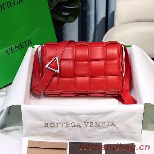 Bottega Veneta PADDED CASSETTE BAG 591970 RED