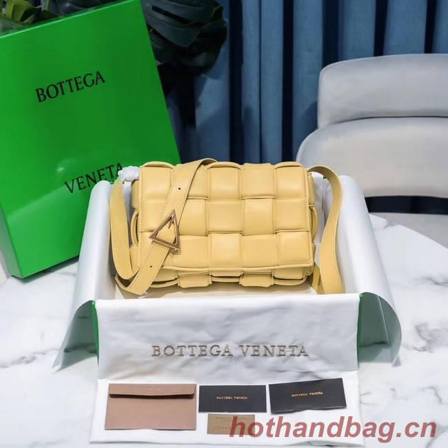 Bottega Veneta PADDED CASSETTE BAG 591970 YELLOW