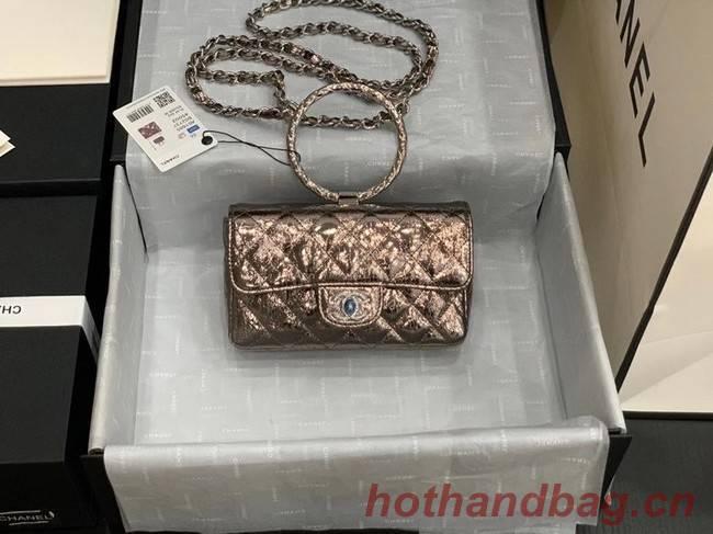 Chanel Flap Original Lambskin Leather Shoulder Bag AS1665 light gold