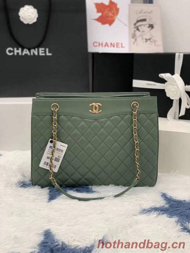 Chanel Original Lather Bag AS2784 green