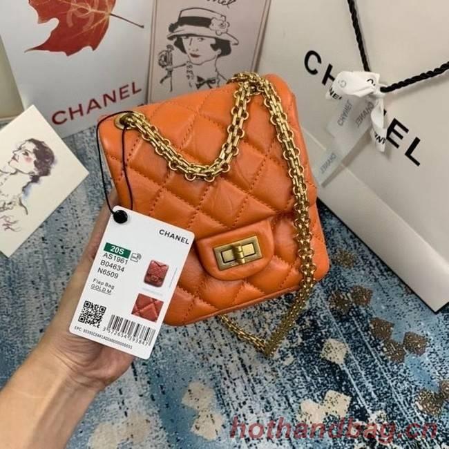 Chanel Small 2.55 Flap Bag AS1961 orange