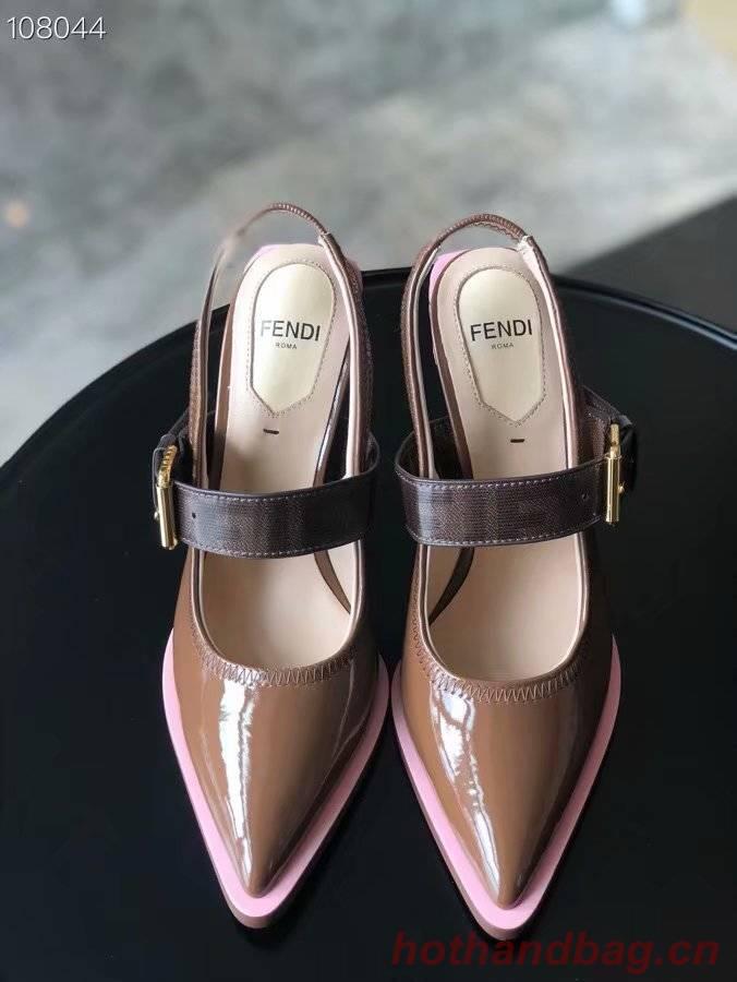 Fendi shoes FD246-2 height 10CM
