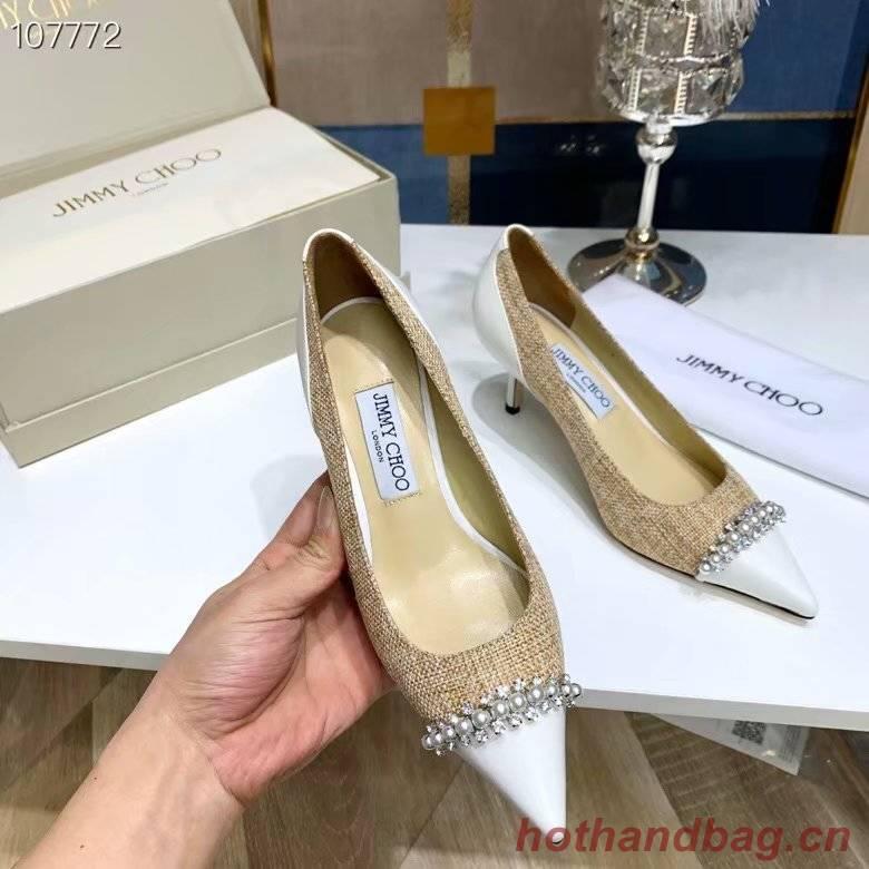 Jimmy Choo Shoes JC428SXC-1 height 6.5CM