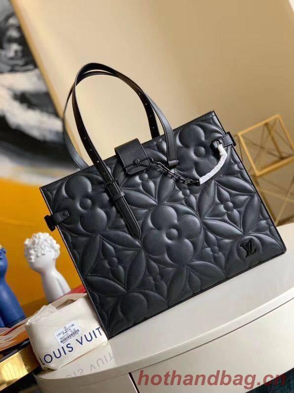 Louis Vuitton ONTHEGO Original Leather Bag M60725 Black