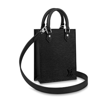Louis Vuitton Original PETIT SAC PLAT M69441 black