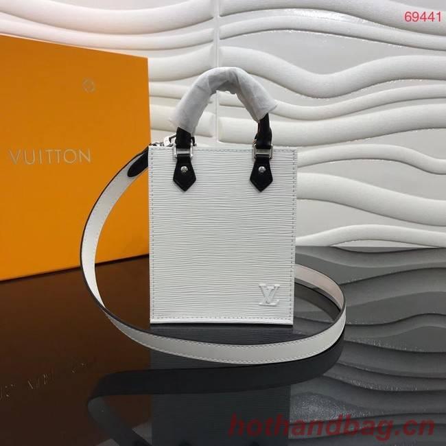 Louis Vuitton Original PETIT SAC PLAT M69441 white