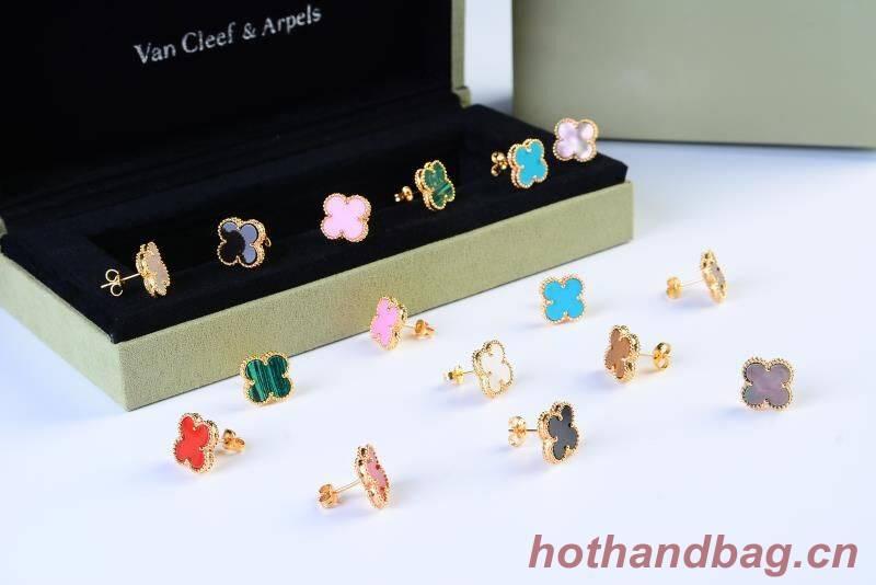 Van Cleef & Arpels Small Flower Earrings VCA6964
