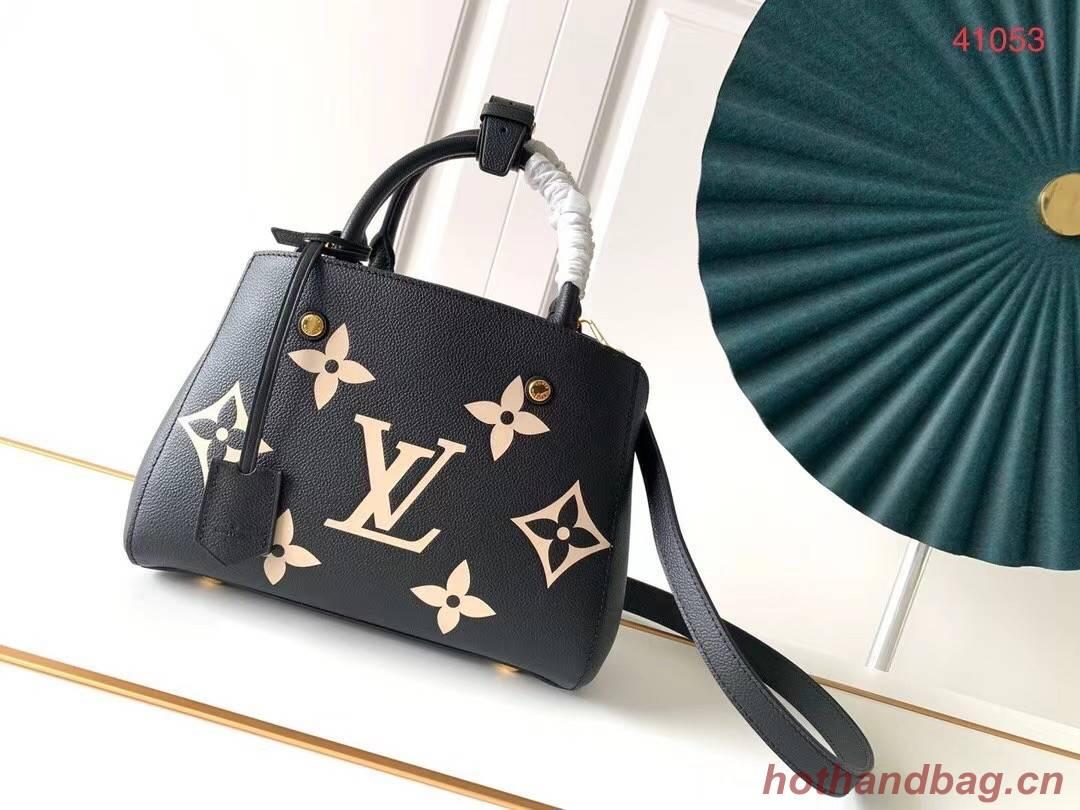 Louis Vuitton Original MONTAIGNE BB M45489 black