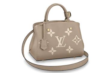 Louis Vuitton Original MONTAIGNE BB M45489 grey