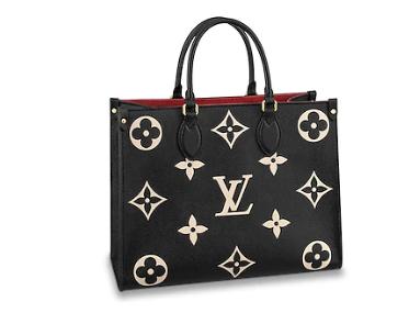 Louis Vuitton Original Onthego medium tote bag M45495 black