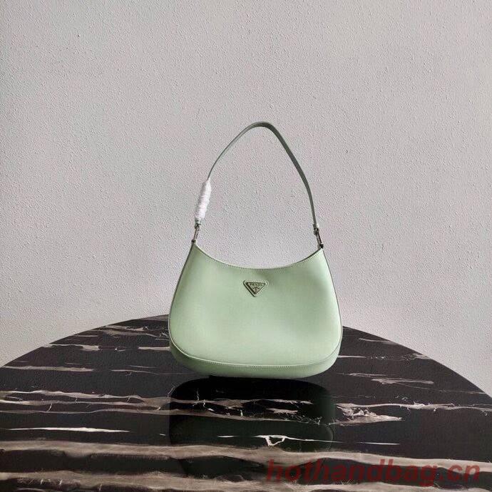 Prada Saffiano leather shoulder bag 2BC499 green