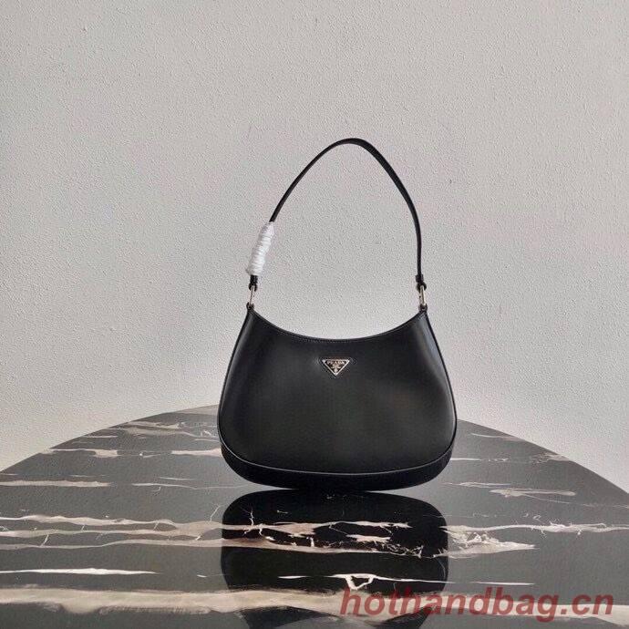 Prada Saffiano leather shoulder bag 2BC499 black