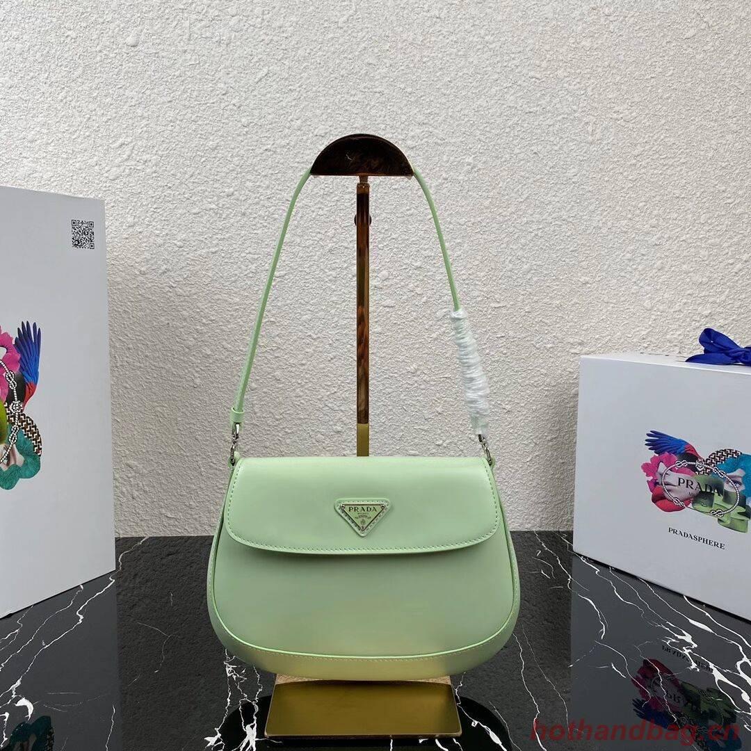 Prada Saffiano leather shoulder bag 2BD311 green