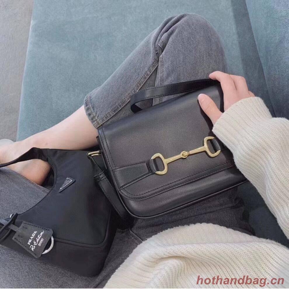 Celine SMALL CLASSIC BAG IN BOX CALFSKIN CL91373 black