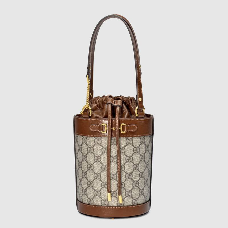 Gucci Horsebit 1955 small bucket bag 637115 brown