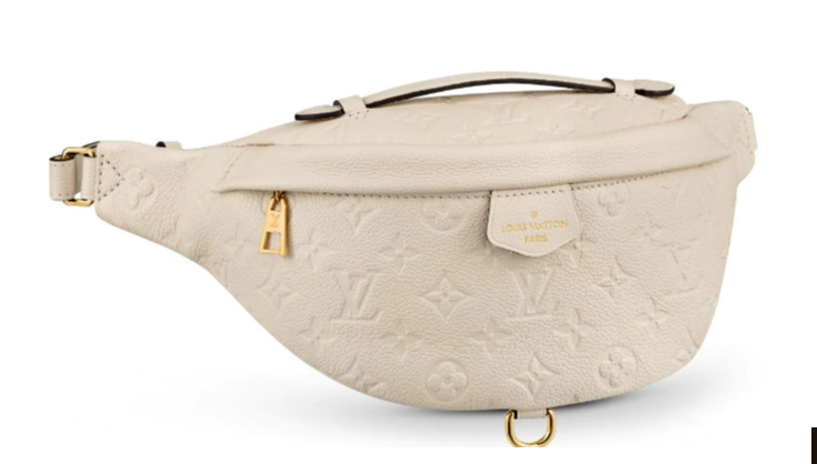 Louis Vuitton Original Monogram Empreinte BUMBAG Pocket M44836