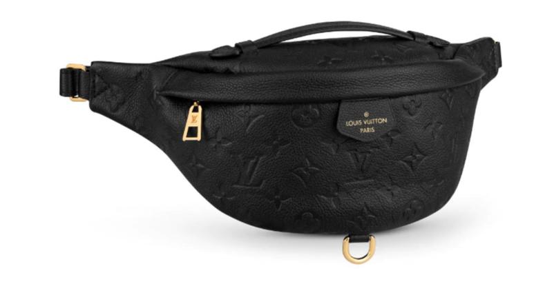 Louis Vuitton Original Monogram Empreinte BUMBAG Pocket M44836 black