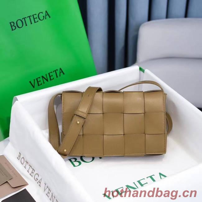 Bottega Veneta BORSA CASSETTE 578004 MOUTARDE