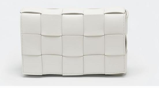 Bottega Veneta BORSA CASSETTE 578004 White