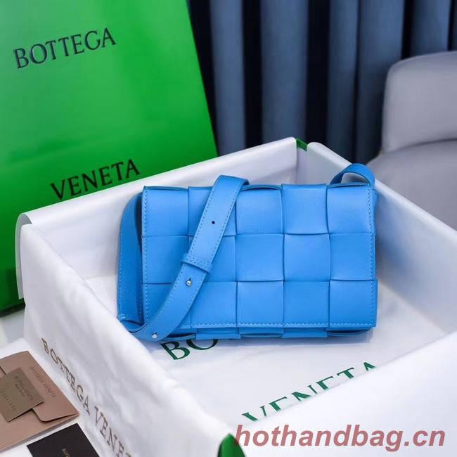 Bottega Veneta BORSA CASSETTE 578004 blue