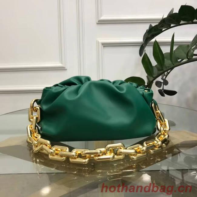 Bottega Veneta THE CHAIN POUCH 620230 blackish green
