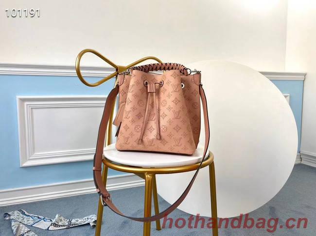 Louis Vuitton MURIA Mahina perforated calf leather M55800 pink