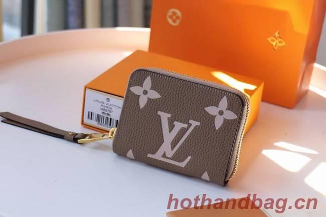 Louis Vuitton Original LV CRAFTY ZIPPY M69797 Khaki