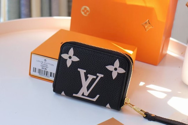 Louis Vuitton Original LV CRAFTY ZIPPY M69797 black