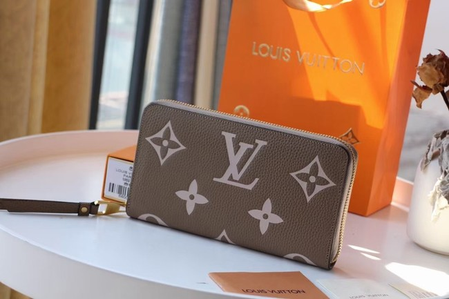 Louis Vuitton Original ZIPPY wallet M69794 Khaki