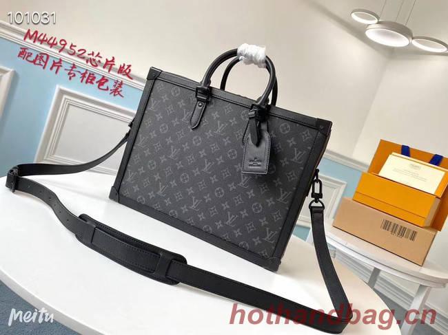 Louis Vuitton SOFT TRUNK briefcase M44952 black