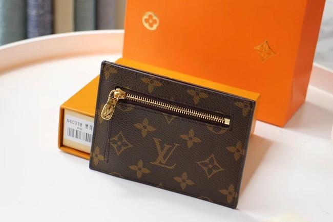 Louis Vuitton Original Card packet M60378-4