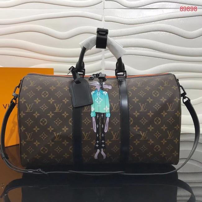 Louis vuitton KEEPALL BANDOULIERE 50 travel bag M89898