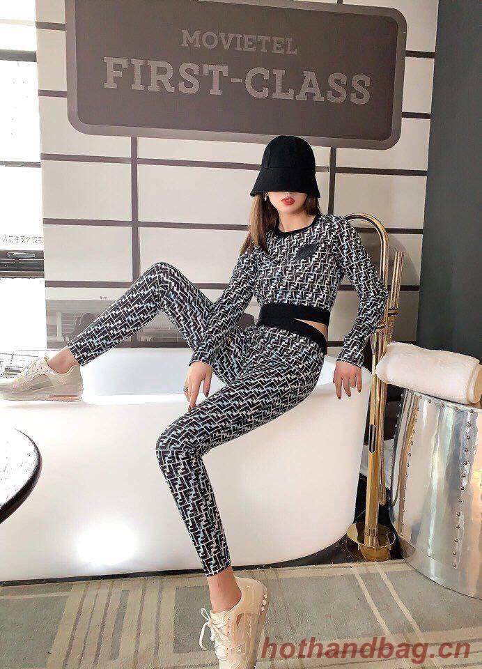 Fendi Top Quality Suit Clothes FD8636