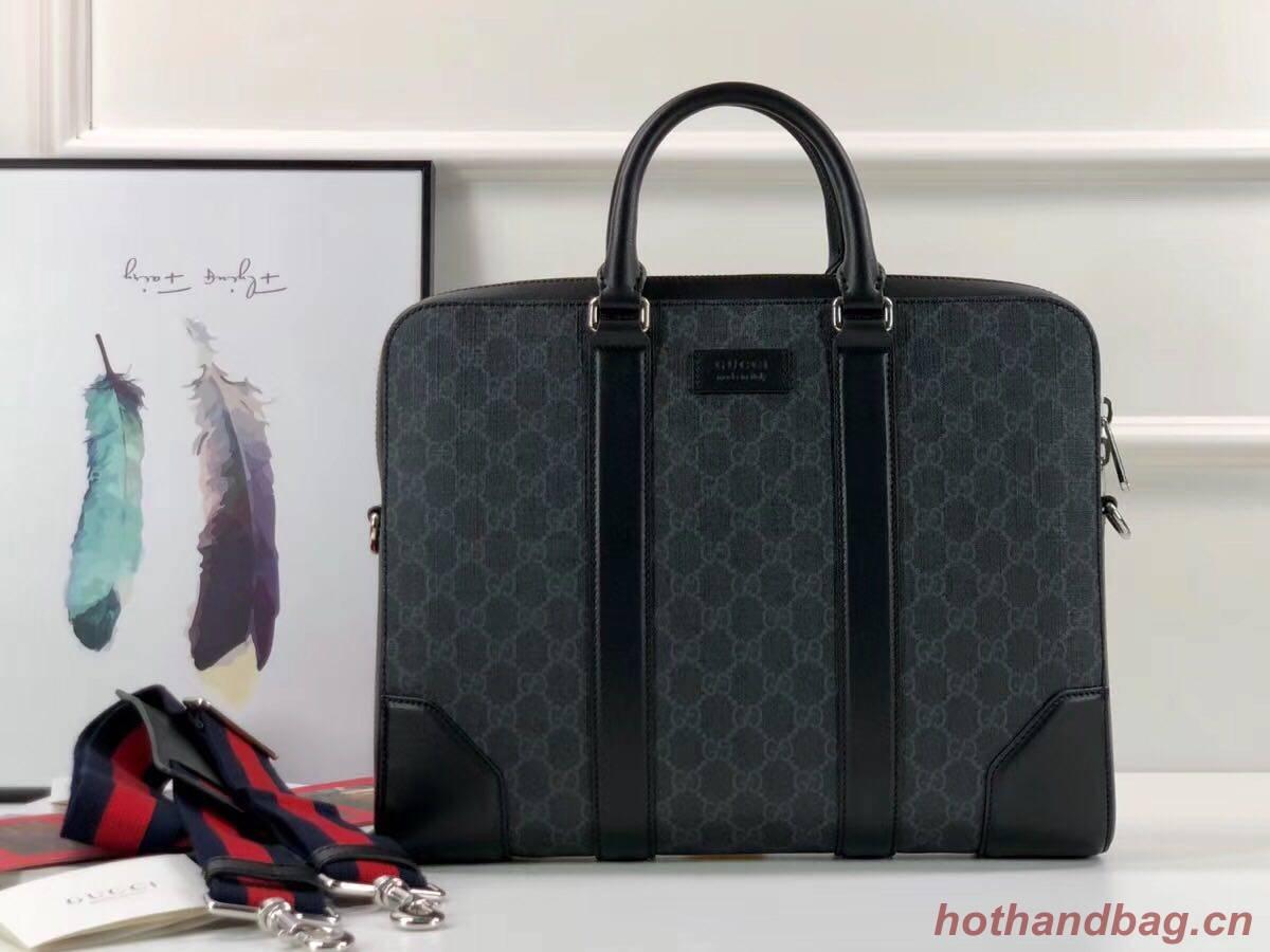 Gucci GG Original Leather tote bag 474135 black