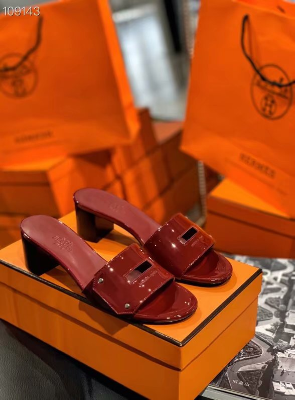 Hermes Shoes HO856HX-4 Heel height 5CM
