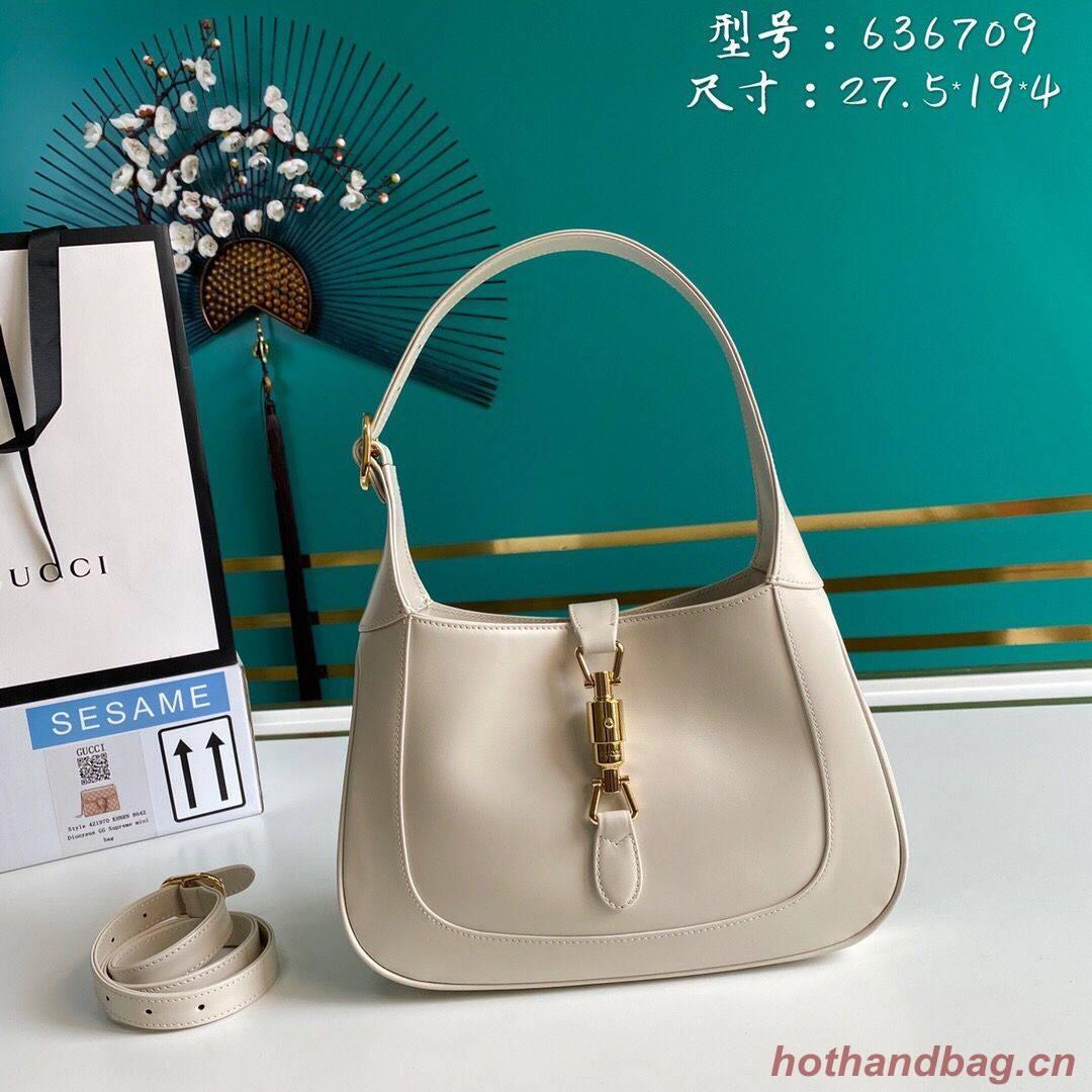 Gucci Jackie 1961 small hobo bag 636709 white