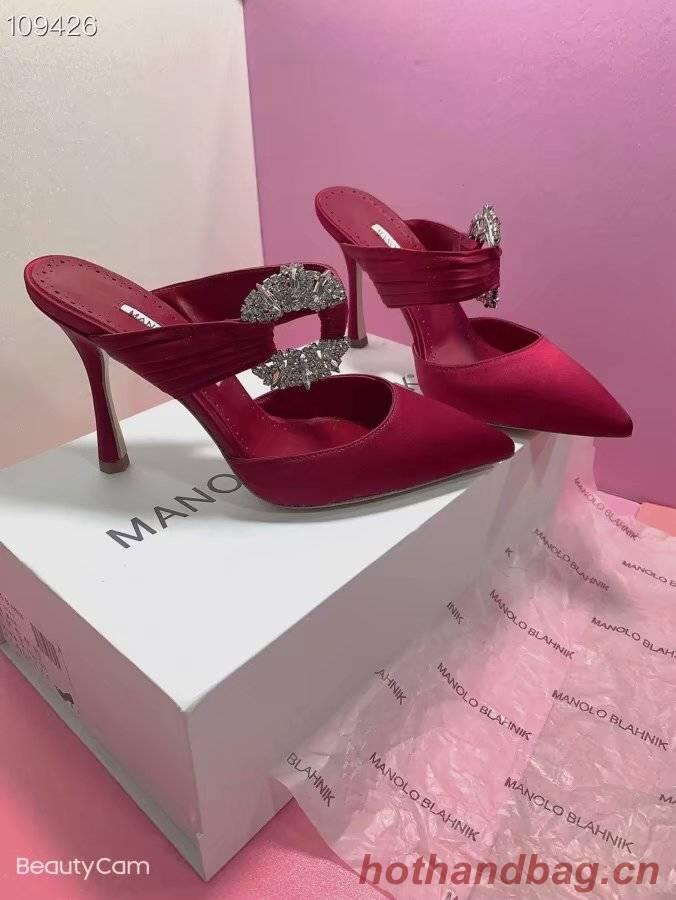 Manolo Blahnik Shoes MB160QG-1 Heel height 8CM