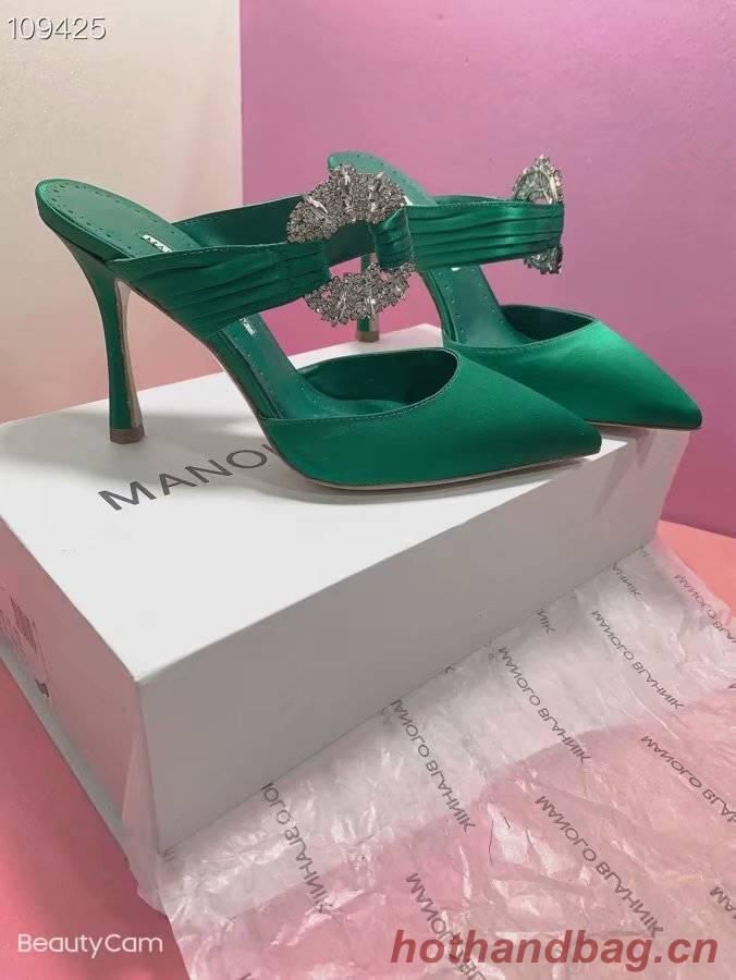 Manolo Blahnik Shoes MB160QG-2 Heel height 8CM