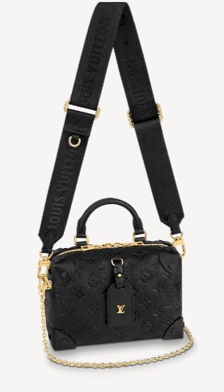 Louis Vuitton Original PETITE MALLE SOUPLE M45394 Black