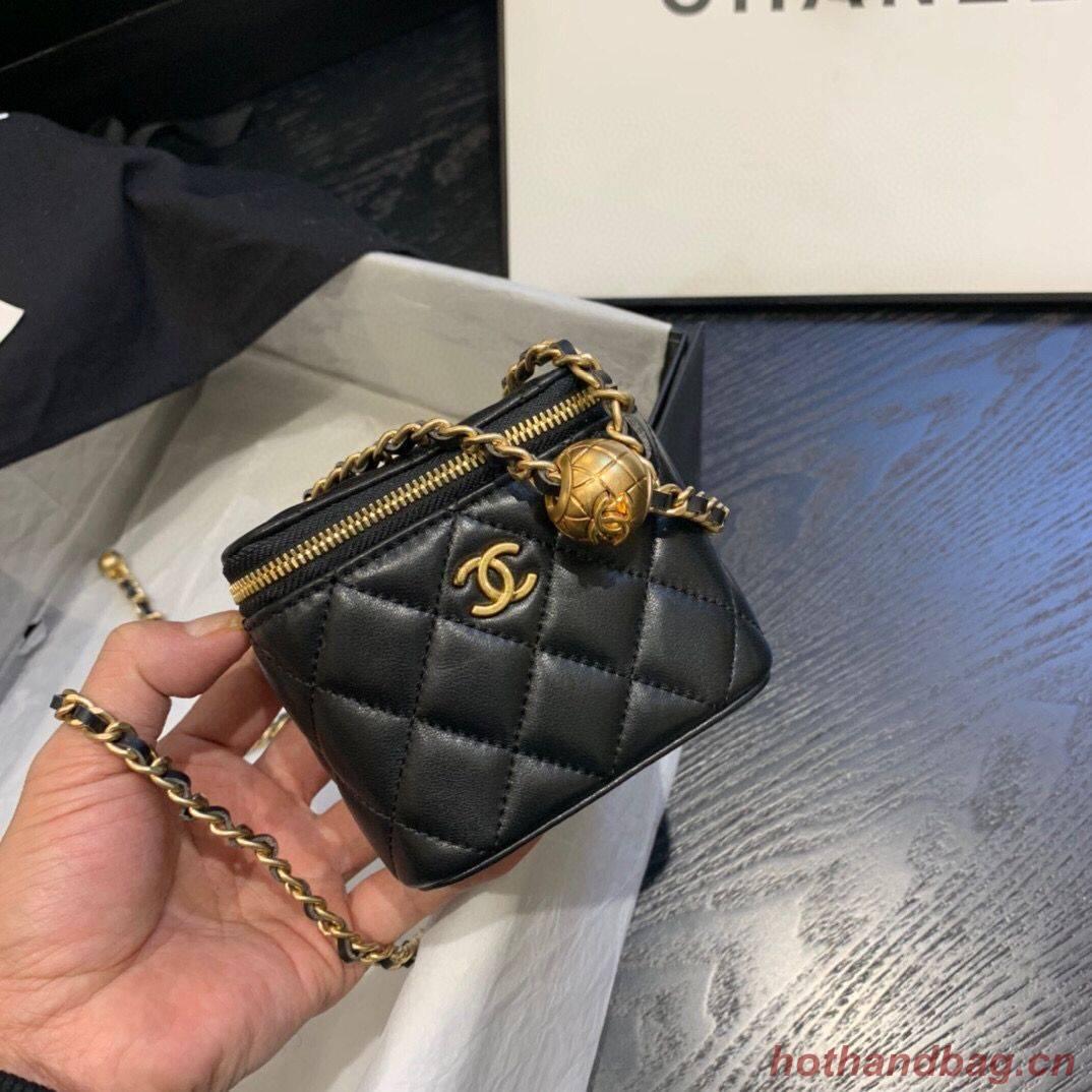 Chanel Original Small classic chain box handbag AP1447 black