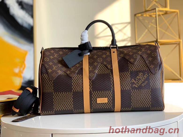 Louis vuitton KEEPALL BANDOULIERE 50 travel bag N40360