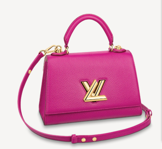 Louis vuitton TWIST ONE HANDLE PM M57093 Orchidee Pink