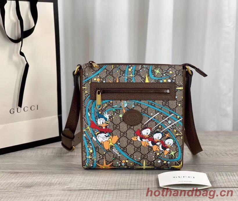 Gucci Donald Duck Series Original Leather Shoulder Bag 645054