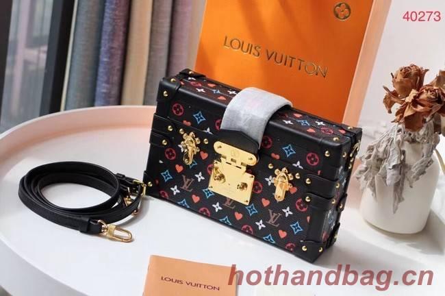 Louis Vuitton SINCE 1854 PETITE MALLE M40273 Black