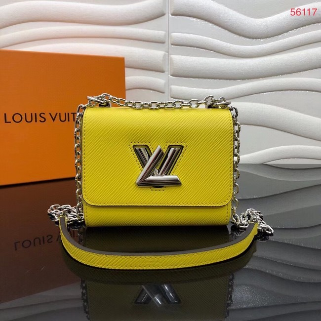 Louis vuitton TWIST MINI M56117 yellow