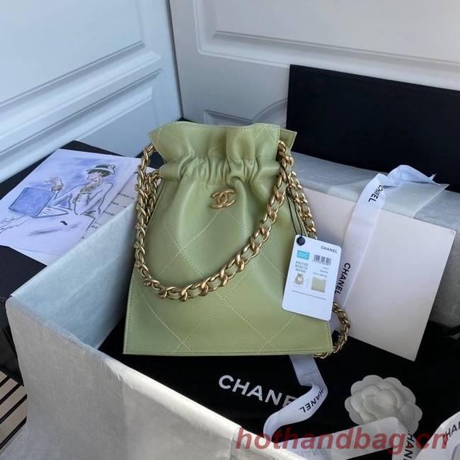 Chanel shopping bag AS2169 green