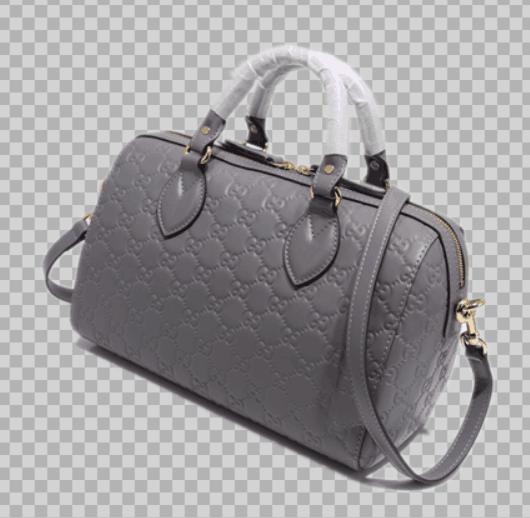 Gucci Joy Bag Signature Leather 475841 grey